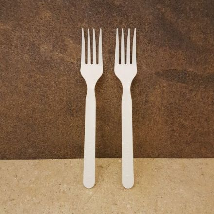 Compostable PLA Salad Forks  x 50